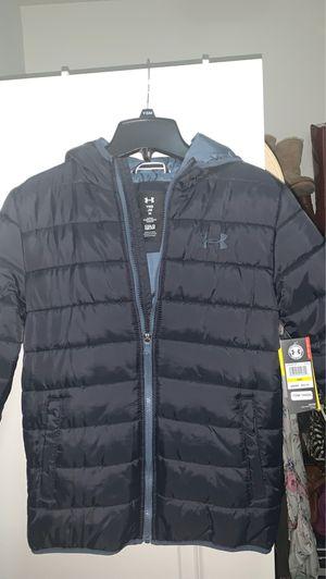 UnderArmour Youth Boys Jacket size Medium Black for Sale in Santa Maria, CA