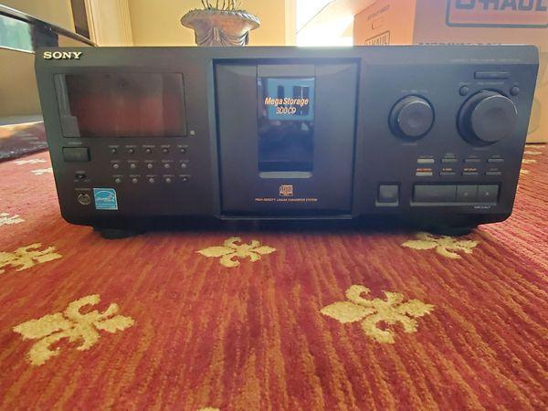 Mega cd 300 player