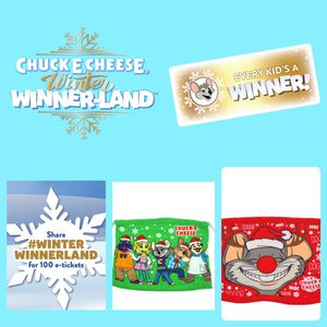 Chuck E. Cheese Winter Winner Land! for Sale in Oceanside, CA