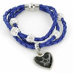 Dallas Cowboys Braided Cords Bracelet for Sale in Baldwin Park,  CA
