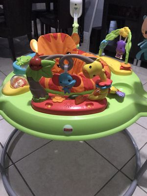 Fisher-Price Tiger Time Jumperoo with Music, Lights & Sounds for Sale in North Miami Beach, FL