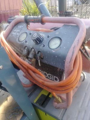 RIDGID air compressor (electric) for Sale in Stockton, CA
