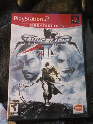 SOULCALIBUR 3 ps2 for Sale in Newark, CA