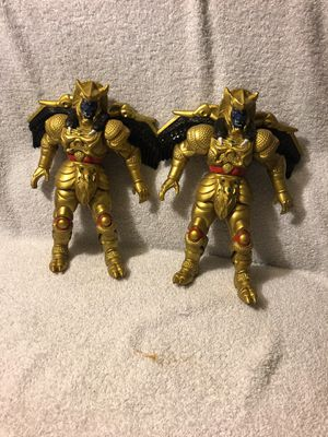 Vintage 1990's Power Rangers villains Lot of 4 for Sale in Lakeside, CA