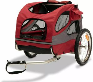 PetSafe Happy Ride Dog Bicycle Trailer Red Medium for Sale in Murfreesboro, TN