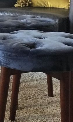 Pair Of Beautiful West Elm Foot Stools for Sale in Tukwila,  WA