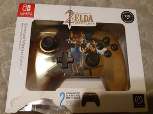 Zelda Nintendo switch wireless pro controller for Sale in Cincinnati, OH