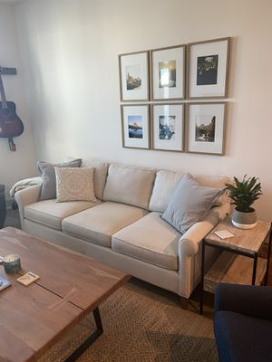 Crate & Barrel 3 Seat Couch (originally $1799) for Sale in Oakland, CA