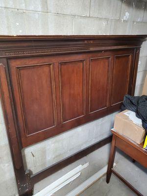 Wood Headboard for Sale in Neptune City, NJ