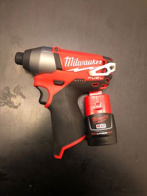 Milwaukee 12v fuel impact driver for Sale in Oswego, IL