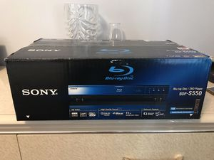 SONY BLU-RAY DVD PLAYER for Sale in Los Angeles, CA