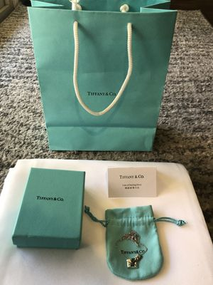 Tiffany & Co. Sterling Silver Sweet Nothings Pendant & Necklace for Sale in Henderson, NV