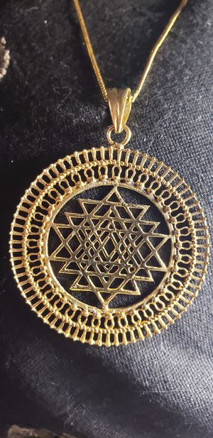 Stunning Gold Pendant from. INDIA for Sale in West Valley City, UT