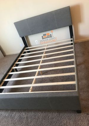 Brand new full size platform bed frame (available in 4 colors) for Sale in Silver Spring, MD