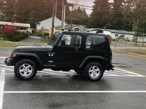 2002 Jeep Wrangler X Hard Top 4.0L 5spd for Sale in Seattle, WA