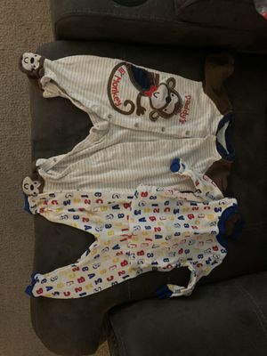 Two 6 month Boy Pajamas for Sale in NORTH PRINCE GEORGE, VA