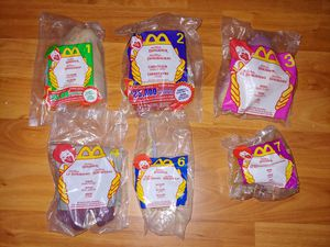 Walt Disney's Dinosaur movie McDonalds toys lot of 6 for Sale in Peoria, AZ