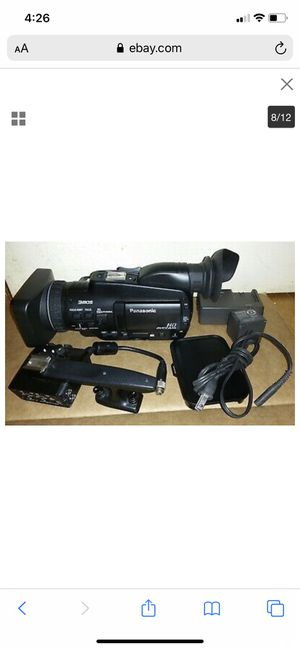 Camcorder And Battery's Only Panasonic 3mos HD ONLY USE SD CARDS for Sale in Atlanta, GA