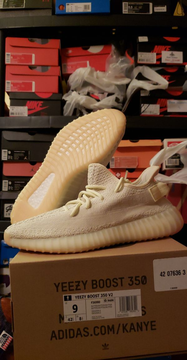 Brand New Adidas Yeezy Boost 350 V2 Butter Size 9 $240