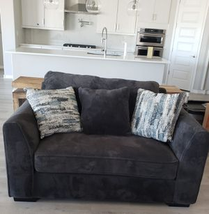 Grey Sofa Chair from Living Spaces for Sale in Peoria, AZ