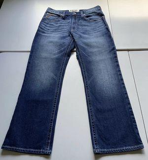 ARIAT M4 Boot Low Rise Denim Jeans Blue Medium Wash Men's Size 34X30 for Sale in West Palm Beach, FL
