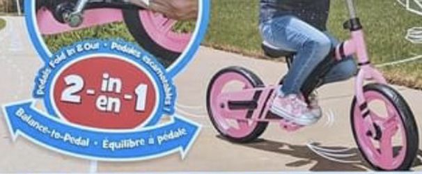 NEW Little Tikes My First Balance Bike- PINK for Sale in Eastman,  GA