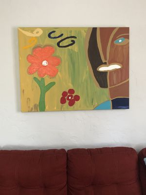 Canvas painting by local artist - large! for Sale in Los Angeles, CA