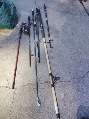 Parts of Fishing poles...not complete. for Sale in Campbell, CA