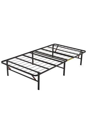 """14"""" TWIN AMAZON BASICS FOLDABLE METAL PLATFORM BED FRAME (NEW-UNOPENED BOX) for Sale in West New York, NJ"""