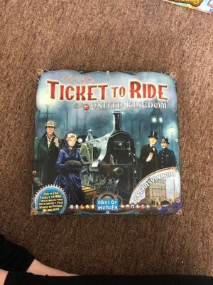 Ticket to Ride Expansion United Kingdom for Sale in Beaverton, OR