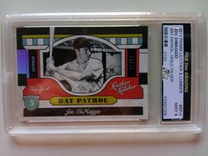 JOE DIMAGGIO 2019 Panini Leather and Lumber # BP-4 for Sale in Alhambra, CA