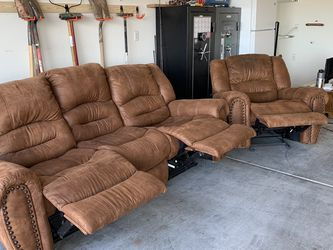 Recliner With Matching Sofa Recliner for Sale in Sloan,  NV