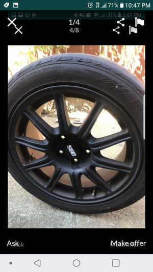 02-07 sti bbs wheels for Sale in San Francisco, CA