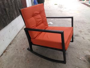 Beautiful new outdoor rocking chair. for Sale in West Covina, CA