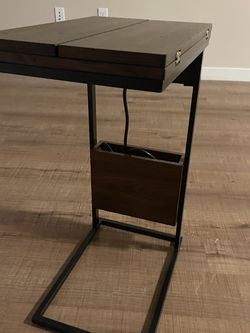 High Quality Wood Super Charge Side Table for Sale in Los Angeles,  CA