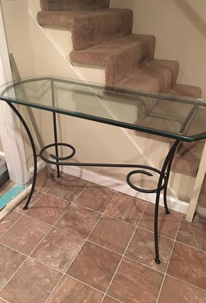 Glass Console Table for Sale in Florissant, MO