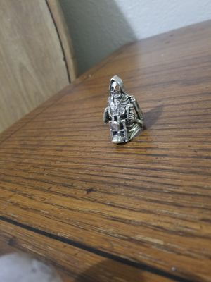 All silver grem reaper message ring 925 for Sale in Oklahoma City, OK