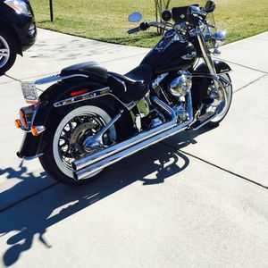 2009 Harley Davidson Softail Deluxe for Sale in Chesterfield, VA
