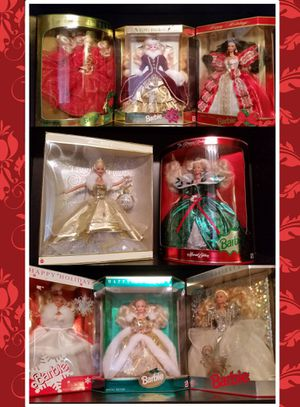Barbie Happy Holidays Special Edition collection (1989-2000) for Sale in Saratoga, CA