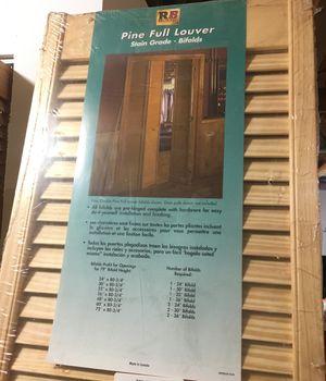 Louver bifold doors for Sale in Riverton, VA