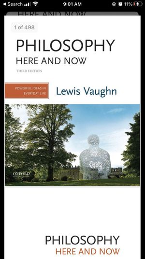 Philosophy Here and Now: Powerful Ideas in Everyday Life 3rd Edition for Sale in Miami, FL