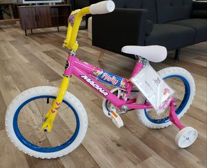 "NEW Girls 16"" Magna Firefly Bike w/ Training Wheels: njft Kids seasonal for Sale in Burlington, NJ"