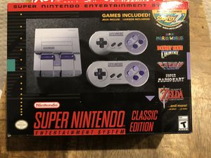 Super Nintendo Classic for Sale in Laurel, MD
