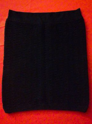 Brand New, Solid black/texturized Skirt for Sale in Las Vegas, NV