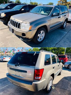 2005 JEEP GRAND CHEROKEE 98k MILES CLEAN TITLE DISCOUNT for Sale in Houston, TX