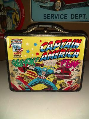 Captain America pail for Sale in Baldwin Park, CA
