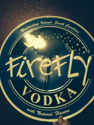 Aluminum Firefly Vodka sign for Sale in Lynnwood, WA