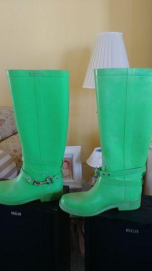 Coach rain boots for Sale in Socorro, TX