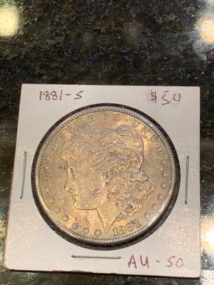 1881 S Morgan silver dollar for Sale in Lake Stevens, WA