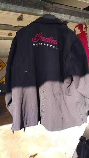 INDIAN MOTORCYCLE JACKET for Sale in Reinholds, PA
